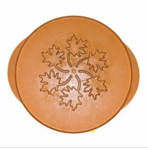 Nordic Ware Leaves & Apple pie top cutter